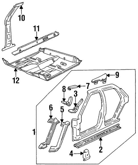 1997 Pontiac Bonneville Transmission
