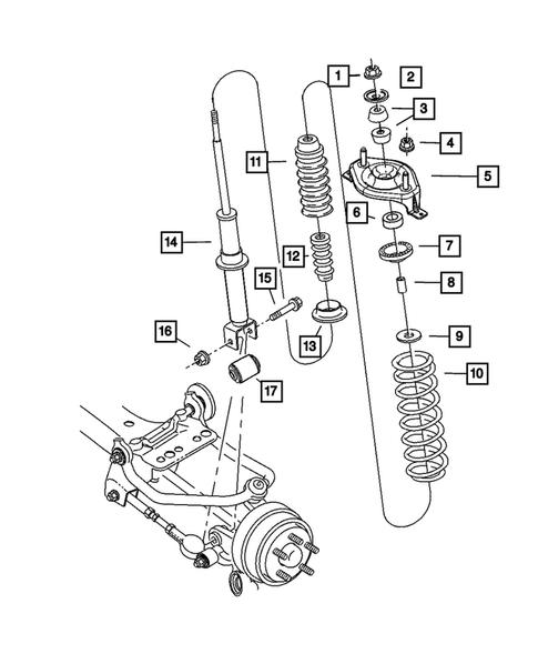 Rear Suspension for 2005 Dodge Stratus | Thomas Dodge PartsThomas Dodge Parts