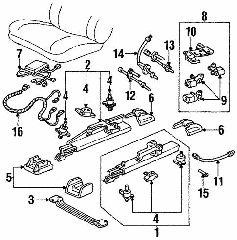 Power Seats For 1999 Oldsmobile Aurora