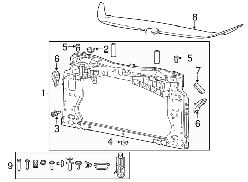 further Mopar Radiator Support 68385101aa as well  on who makes mopar oil filters