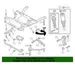Upper Control Arm - Land-Rover (LR034212)