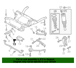Tow Eye Bolt - Land-Rover (LR001188)