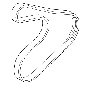 Serpentine Belt - Hyundai (25212-2B720)