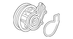 Water Pump - Honda (19200-6A0-A01)