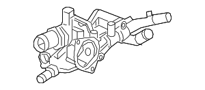 Case, Thermostat - Honda (19320-6A0-A01)