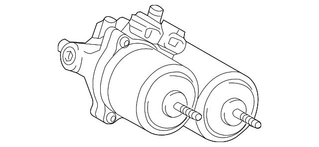 2012 2019 Toyota Prius C Actuator Assembly 47070 52020