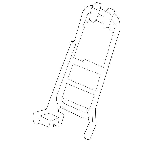 frame  center seat-back