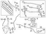 Arm, Windshield Wiper (Passenger Side) - Honda (76610-TK8-A11)