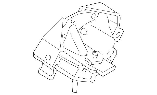 Genuine Ford    Trans    Mount BL3Z6068E   eBay