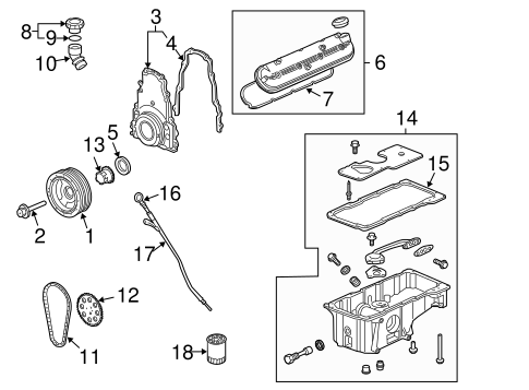 oem engine parts for 2007 chevrolet trailblazer ... chevy trailblazer engine diagram 2007 trailblazer engine diagram #5
