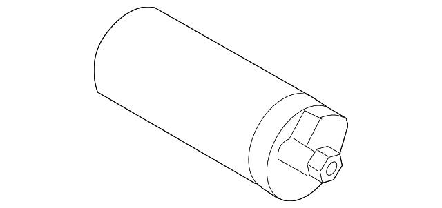 genuine volvo slide motor 8621418