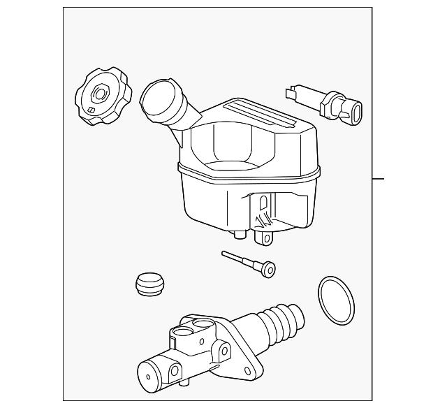 master cylinder gm 15939484 gmpartsnow