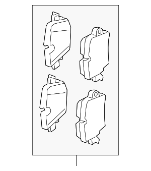 Brake Pads - Jaguar (C2D40929)