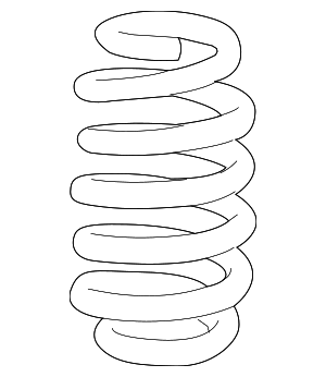 Coil Spring - GM (23104465)