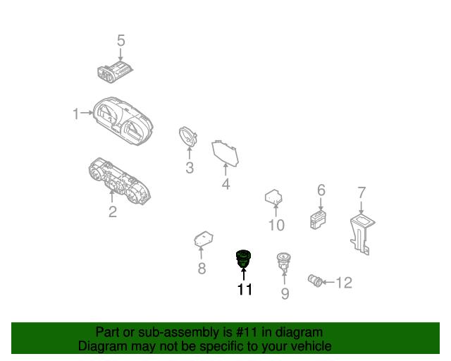 Indicator Switch Bmw 61 31 6 915 011 My Bimmer Parts