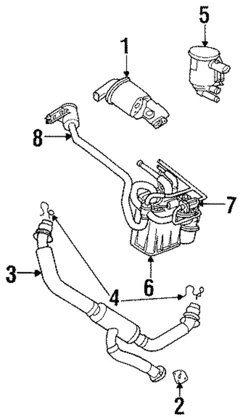 Emission Components For 2001 Chrysler Lhs
