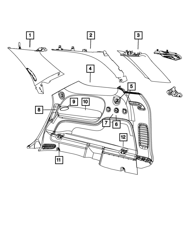 Chrysler Genuine 1TM57LU5AA Seat Recliner Handle
