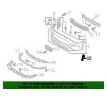 Outer Grille - Ford (JR3Z-17E810-BA)