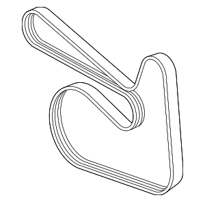 Serpentine Belt - Mercedes-Benz (003-993-87-96)