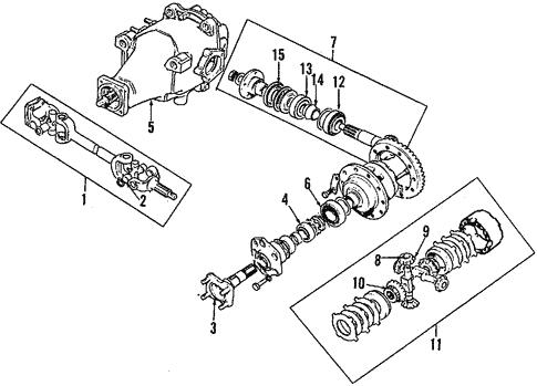 Rear Brakes For 1994 Jaguar Xj6