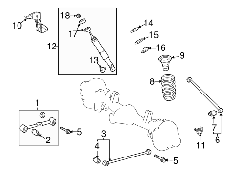 REAR SUSPENSION/REAR SUSPENSION for 2013 Toyota Land Cruiser #2