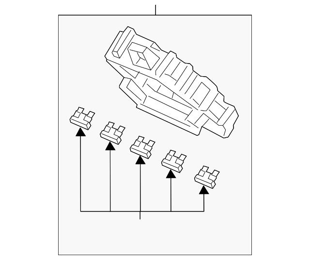 Honda Box Assembly Fuse 38200 Trw A01
