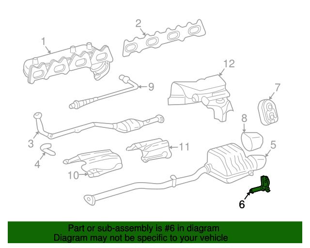 Muffler pipe bracket mercedes benz 203 490 01 40 for Mercedes benz part numbers list