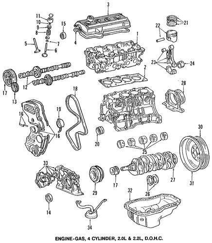 Upper Timing Cover Gasket