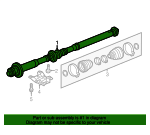Drive Shaft - Volkswagen (7P0-521-102-Q)