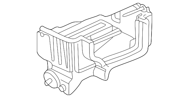 Case, Evaporator (Lower)