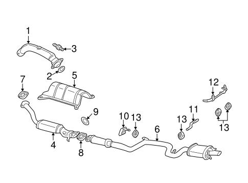 catalytic converter gm 10343187 gmpartsnow. Black Bedroom Furniture Sets. Home Design Ideas