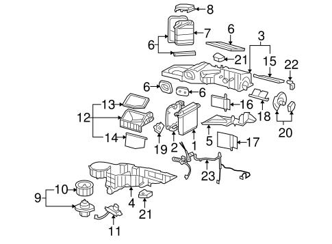 Chevrolet Tahoe Gm Original Equipment Hvac Blower Motor Control