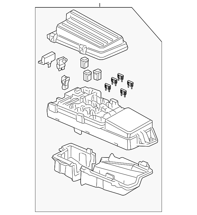 box assembly  relay