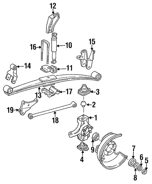 Suspension Components For 1991 Ford F 350