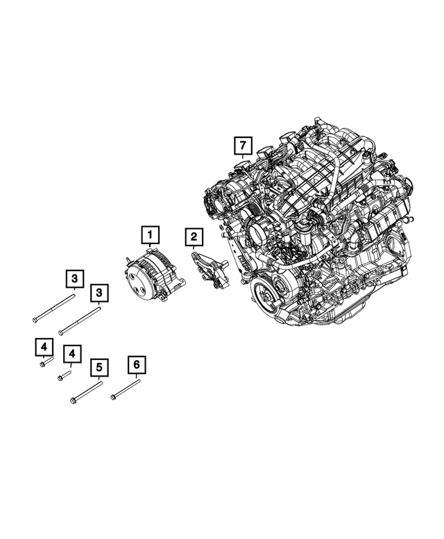 Alternator - Mopar (56029765AA)