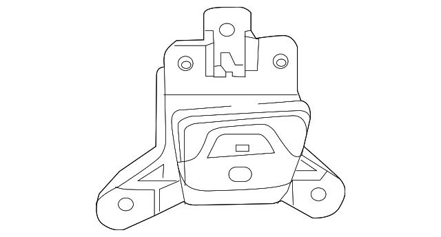 Genuine Mopar Amplifier 68312125AC