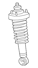 Shock Absorber, Left, Right