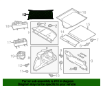 | 2014 | 2015 | 2016 | 2017 | 2018 | Ford Mustang | Cargo Net | Load Fixing | Load Compartment | Black | - Ford (FR3Z-63550A66-A)