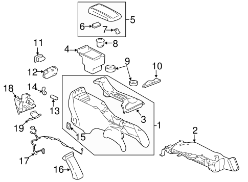 compartment for 2005 chevrolet trailblazer|88986014 : group1autoparts.com | genuine oem parts direct 2003 trailblazer engine wiring diagram