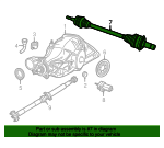 Axle Assembly - Mopar (52123524AB)