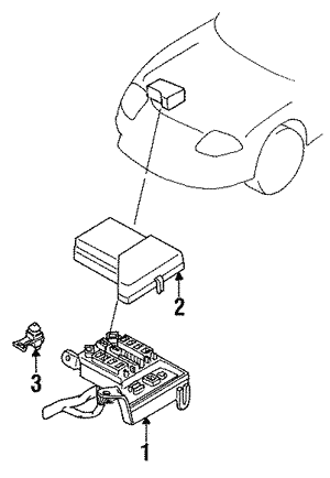 Anti Theft Components For 1996 Dodge Stealth