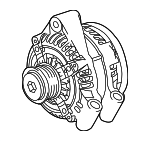 Alternator - Land-Rover (LR076696)