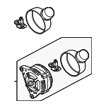 Alternator - Volkswagen (021-903-016-AX)