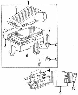 1993 2018 mopar air cleaner assembly isolator 4573049 lithia 2014 Dodge Intrepid air cleaner assembly isolator mopar 4573049