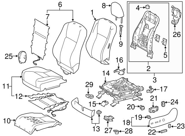 TOYOTA Genuine 71812-0E010-E0 Seat Cushion Shield