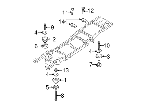 Diagram front end ford f150 also 1997 Ford Probe Wiring Diagram Harness in addition 1997 F250 4 Wheel Drive Front Suspension Parts Diagram besides Tailgate Scat furthermore Bolt Pattern Dimensions 5 Lug 2. on ford ranger parts catalog