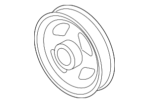 Crankshaft Pulley - Nissan (12303-EN20C)