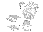 Plate Assembly, Blower - Honda (80291-TR0-Y01)
