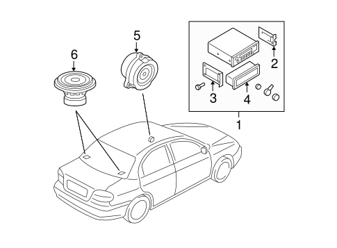 Sound System for 2007 Kia Spectra #0