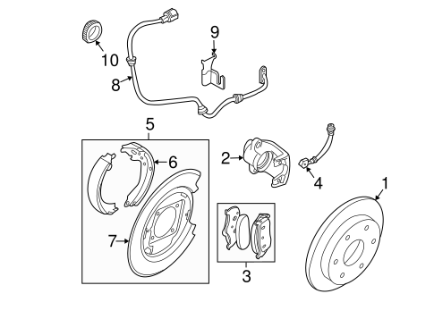 Rear Brakes For 2007 Nissan Frontier